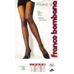Franco Bombana - Collant Attuale15 - Ivoire - T1