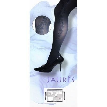 Jaures - Collant fantaisie - Noir - T1/2