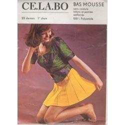CE.LA.BO - Bas Mousse vintage - Naturel - T2