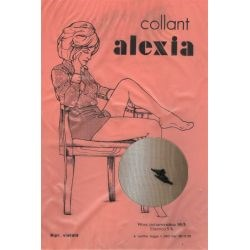 Alexia - Collant stretch fantaisie - 15d - Noir - T1