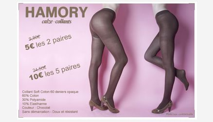 Hamory collants coton