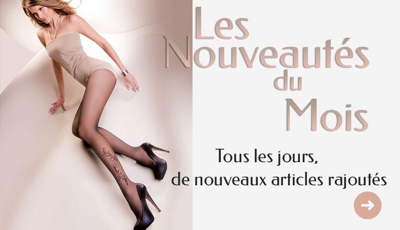 Les nouveautés de Collants-Discount.fr