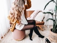 3 façons d'agencer le collant cuissardes effet résille
